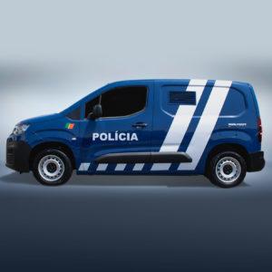 Transporte celular PSP Policia
