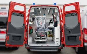Ambulância tipo b anti viral auto ribeiro covid 19 santo tirso