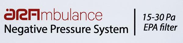 Sistema negative pressure ambulance