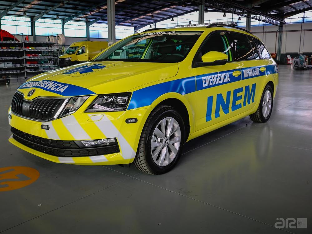 VMER ambulância INEM
