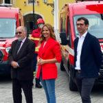 TVI e Calzedonia oferecem 3 ambulâncias aos Bombeiros
