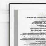 20 Years CERTIFICATION ISO 9001